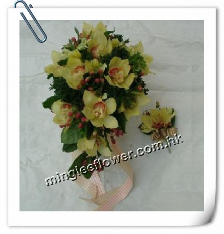 長型蕙蘭花球